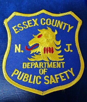 Essex County, New Jersey Department Of Public Safety Police Shoulder Patch Nj
