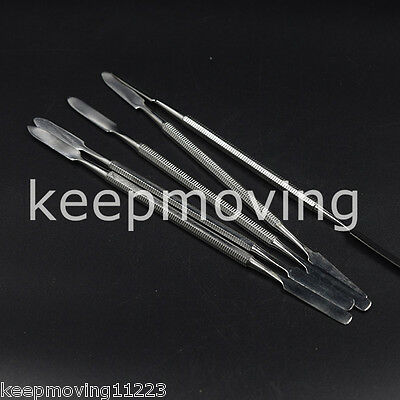 5x Cement Spatula Dental Wax Amalgam Mixing Spatula Double Ended Stainless Steel