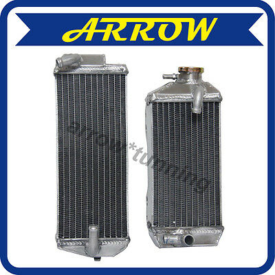 Performance For 07 - 09 Suzuki Rmz250 Rmz 250 Aluminum Radiator 2007 2008 2009