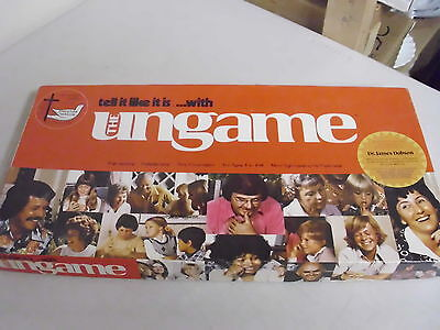 1975 The Ungame Board Game Replacement Pieces Only