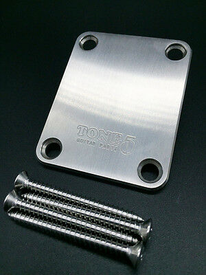 TONE5 Titanium Neck Plate For Bolt on Style Guitar