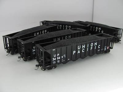 Athearn Genesis HO 5 Bay Rapid Discharge Hoppers X 5 Union Pacific