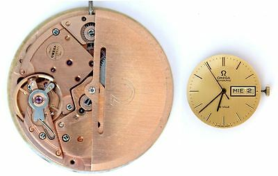 OMEGA cal. 1012 original automatic watch movement working (4430)