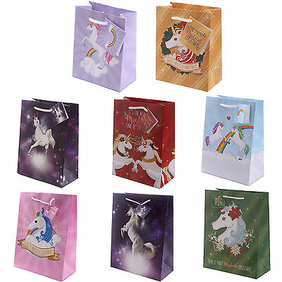 Unicorn Gift Bag ~ Choice of Bags and Sizes