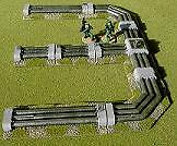28mm Wargames Scenery - Sci-Fi Pipeline Set