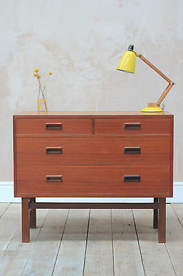 Vintage Retro Mid Century Danish Teak Chest of drawers (UK Delivery Available)