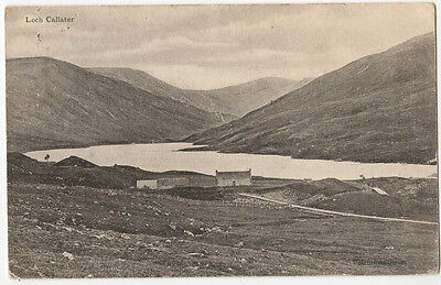 LOCH CALLATER, Nr BRAEMAR ~ A VINTAGE PHOTO POSTCARD POSTED IN 1904 (Z19)