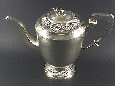 Rare Genuine Vintage Solid Sterling Silver Teapot / Total Weight 541 Grams!