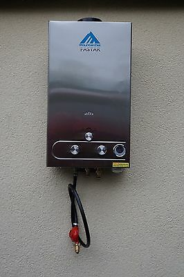 12l/min (24kW) Horse Shower. Heats Water To 60C, Comes With 5m Hose+Spray Gun