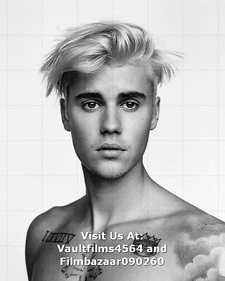 """JUSTIN BIEBER - 10"""" x 8"""" Color and B/W Photographs - Selection of Portraits"""