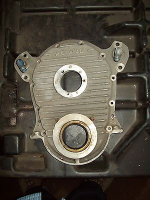 BBC Weiand timing cover/marine/used