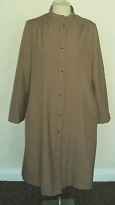 St micheal vintage brown coat size 14