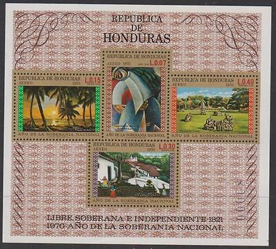 HONDURAS - 1972 Independence souvenir sheet. Scott C516a. MNH