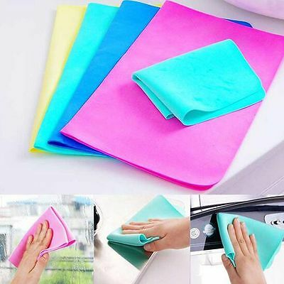 Care Absorbent Car Washing Cleaning Towel Wipe Towel Synthetic Chamois Leather