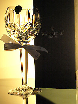 Waterford Crystal Lismore Hock Wine Glass, Brand New