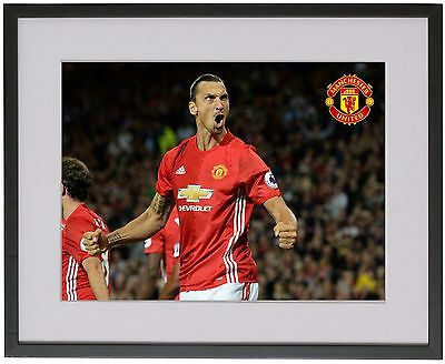Zlatan Ibrahimovic A4 Poster Unique, Manchester United 2017 Old Trafford