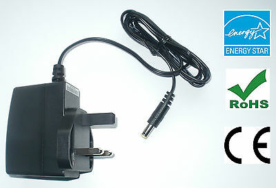 BOSS PSA-240 NOISE FREE REPLACEMENT POWER SUPPLY ADAPTER 9V 500mA