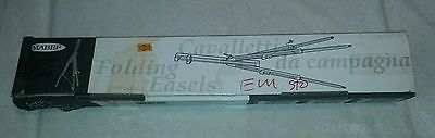 Mabef Basic Large Field Easel Wooden Adjustable Folding M/28 - Italy - READ
