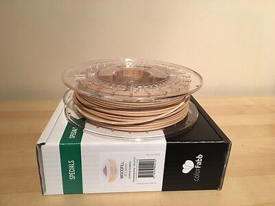 Colorfabb Woodfill 2.85mm 3D printing filament - Used