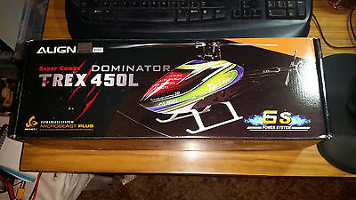 T-REX 450L Dominator Super Combo 6S RC Helicopter Kit