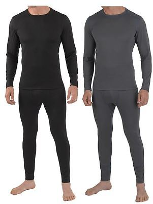 Mens Full Thermal Set Underwear Base layer Long Sleeve Top & Long Johns