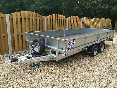Ifor Williams Flat Bed Trailer 2016 16Ft Brand New 3500Kg - Plant Trailer