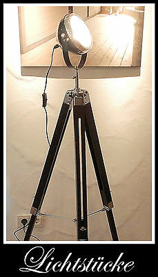 steh lampe stativ leuchte tripod scheinwerfer bauhaus impressionen eur 119 90. Black Bedroom Furniture Sets. Home Design Ideas
