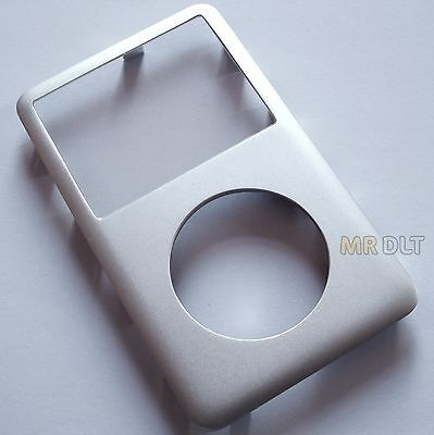 GRADE B+ Silver iPod Classic 6th 7th Gen Generation Front Cover Metal Face - UK