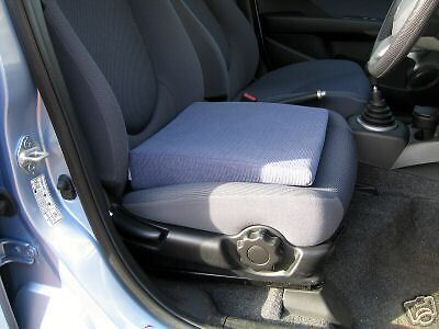 "Wizard Car Seat Cushion  Leveller 4"" in Biege for Comfort & Relief of Back Pain"