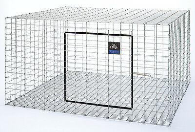 """PET LODGE STACKABLE RABBIT HUTCH Galvanized Steel Wire Stack to 4 High 30"""" x 30"""""""