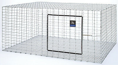 """PET LODGE STACKABLE RABBIT HUTCH Galvanized Steel Wire Stack to 4 High 30"""" x 36"""""""