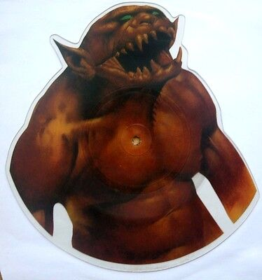 EX/EX! METALLICA JUMP IN THE FIRE Limited VINYL Shaped Picture Pic Disc