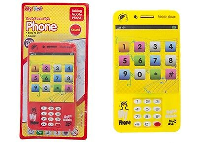 MUSICAL MY PHONE Educational Learning 123 Kids Toddler Phone Toy Birthday Gift