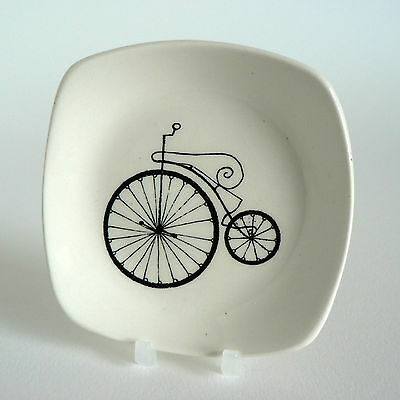 Midwinter Conran 1872 Spider Wheel Bicycle Pin Tray Velocipede Cycle Pickle Dish