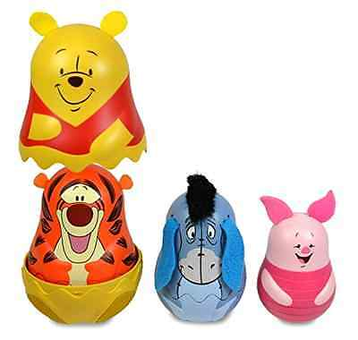 Toy Set Winnie The Pooh Hide Inside Winnie Stackable for Kids from 6 Mos and Up