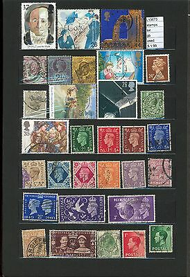 Stamps Lot Great Britain  Used  (L13673)