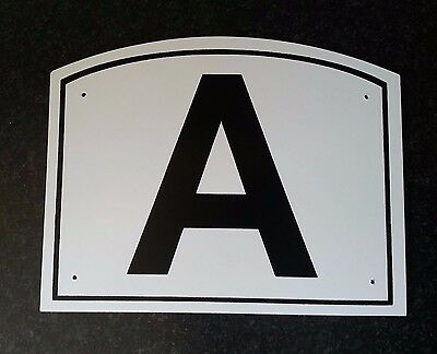 """Dressage Arena Letters / Markers - Set of 12 Large, approx. 11½"""" x 9"""""""