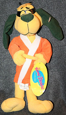 Hong Kong Phooey New With Tags Plush Toy Hanna Barbera TV 1970s Dog Karate Chop