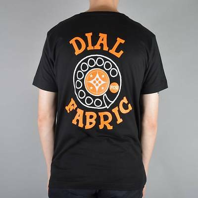 Fabric skateboards Dial up t shirt black ref 120