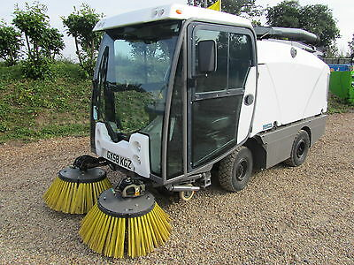 Johnston Compact CX200 Road Sweeper Self Drive Hire Rental Nationwide Coverage
