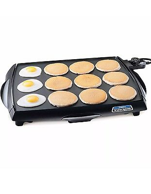 Presto BigGriddle Cool Touch Griddle 07046 New