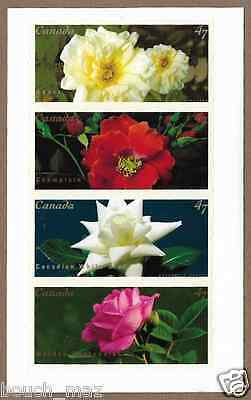 Canada Stamps -Pane of 4 -Roses #1914a (1911-14) -MNH