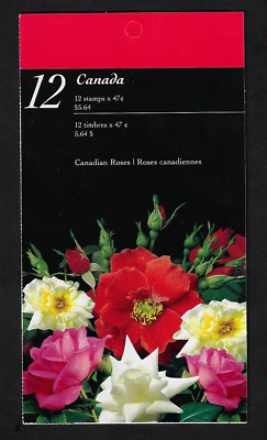 Canada Stamps - Booklet Pane of 12 - Canadian Roses #1914a X 3 (BK245) - MNH