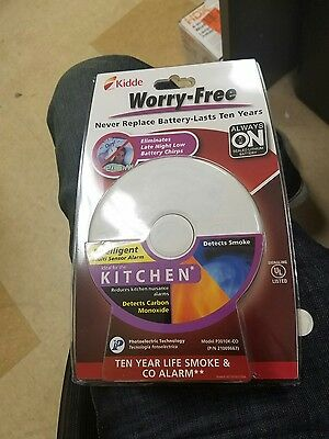 Kidde Smoke Carbon Monoxide Detector P3010K-CO ideal for kitchen new in box