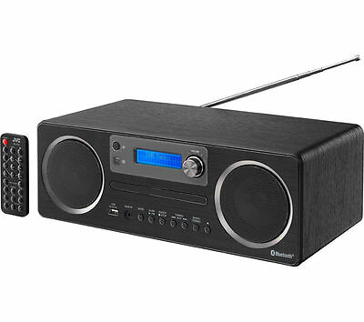 Jvc Rd-D70 Hi-Fi Stereo System Dab Radio Cd Player Wireless Bluetooth Usb Port