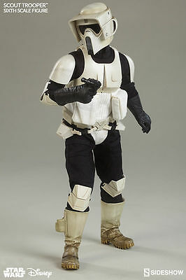 Sideshow Collectibles Return of The Jedi Biker Scout 1/6th Scale Figure