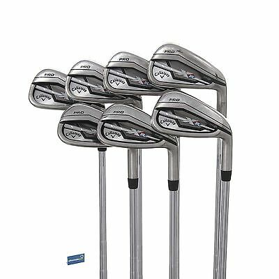 Callaway XR Pro Steel Irons 4-PW /  Stiff Shaft KBS Tour -V 90