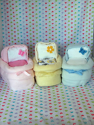 Moses Basket / Crib Nappy Cake gift for Baby Shower / New Born Baby / Mum-to-be