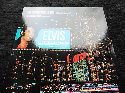 """Elvis Presley ~Are You Lonesome Tonight ( laughing) ~ 7"""" 45 single ~  EX+/EX+"""