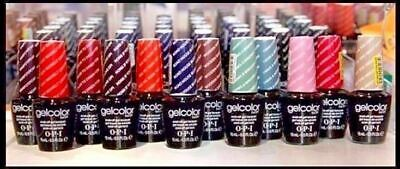 OPI GELCOLOR Soak Off Gel Nail Lacquer UV/LED Polish Full Sz *PICK COLOR* A NEW!